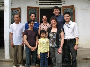 Chez la famille de guide francophone locale Hanoi
