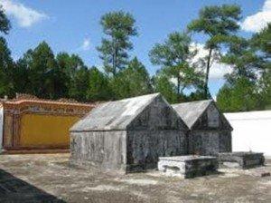Le tombeau de Gia Long