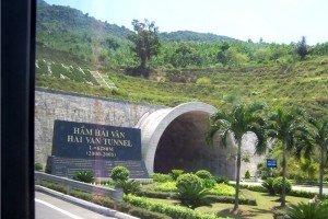 Le tunnel de Hai Van