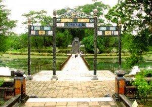 Le tombeau de Minh Mang