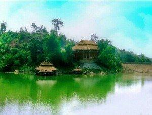 Le lac de Cam Son