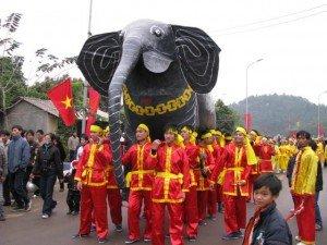 La Fête Giong,Phu Dong, Gia Lam, Hanoi