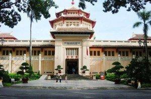 Le musée de l'Histoire du Vietnam