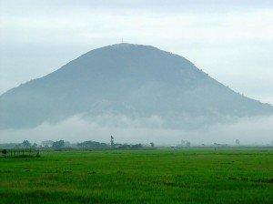 Le mont Ba Den ou Dame Noire