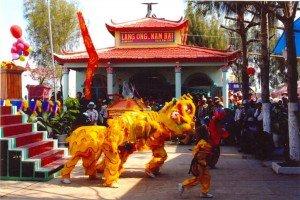 La Cérémonie et la Fête a Ho Chi Minh-ville