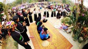 Festival des Thai et des Tay à Lao Cai