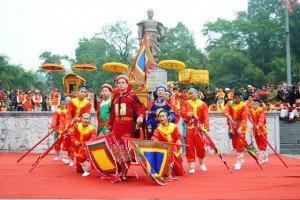 Fête du temple de Cua Ong