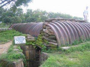 Le poste de commandement de la campagne de Dien Bien à Muong Phang