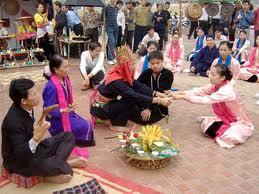 Les fêtes du groupe ethnique de Thai