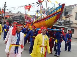 Fête de Cau Ngu à Thai Duong Ha