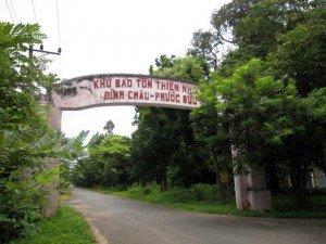 La réserve nationale de Binh Chau