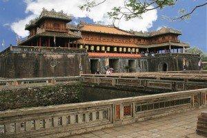 Les vestiges de l'ancienne  capitale de Hue