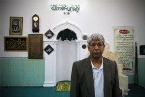 Gardien de mosquee de Hanoi