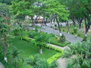 parc Hoang Van Thu a Ho Chi Minh ville.