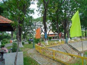 piscine et parc Ho Chi Minh ville