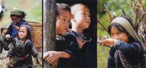 Enfants vietnam