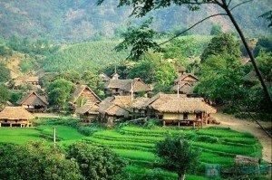 Chez l'habitant à Mai Chau