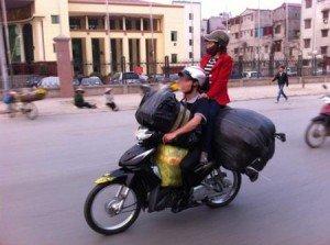 Transporter en ville Hanoi