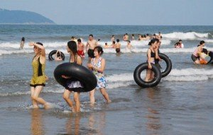 la plage Cua Lo