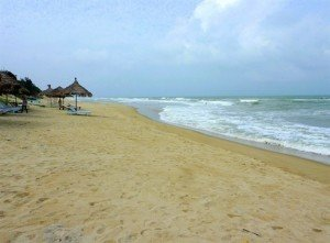La plage d'An Bàng est une destination