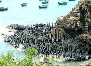 La falaise de Da Dia, dans la province de Phu Yên (Centre)
