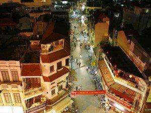 quartier de 36 rues Hanoi