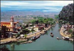 Village flottant de Kenh Ga