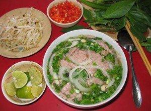 Soupe aux boeuf du Vietnam