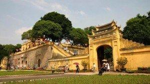 Citadelle de Hanoi Cite impériale de Thang Long Hanoi Vietnam