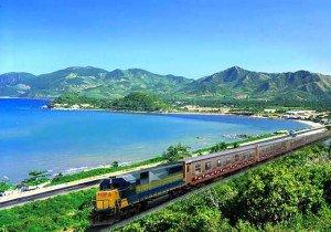 Le train Hanoi - Saigon