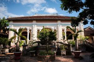 Visite l'ancienne maison Caï Cuong
