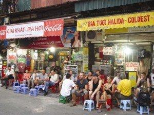 La rue des «Tây Ba Lo» Ta Hiên à Hanoi