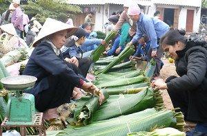 La foire du Têt à la campagne vietnamien