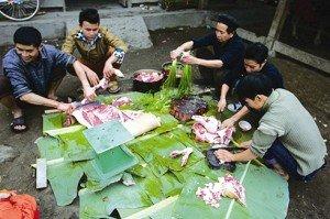 Preparation le Nouvel An Vietnam