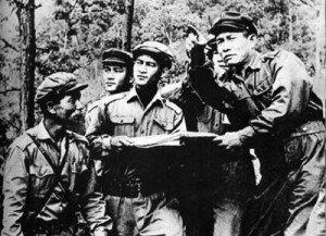 Les soldats du Pathlet Lao