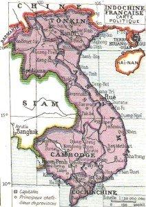 Carte geogranphie du Cambodge