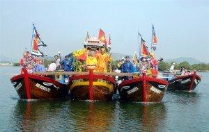 La fête de la bonne pêche, appelée «Cầu ngư»
