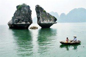 Les îlots Trông Mai (îlots du Coq et du Poulet)