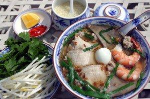 Les nouilles de riz ou Hu tiêu de My Tho