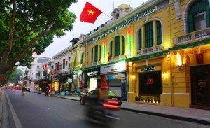 l'architecture française à Hanoi