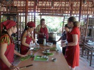 Cours de la cusine Hanoi