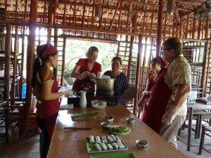 Cours de la cusine a Hanoi