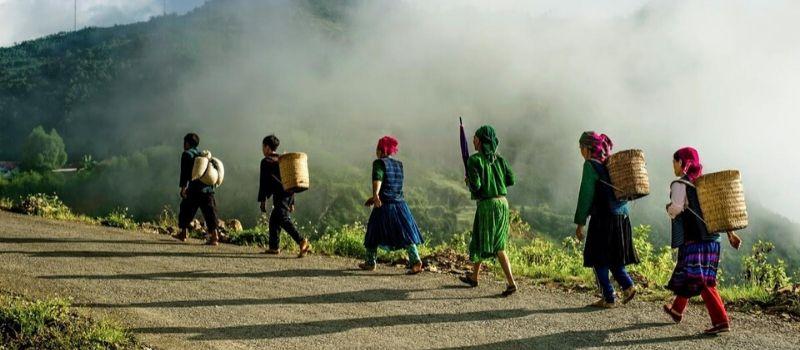 Minorité ethnique Ha Giang - circuit privé au Vietnam