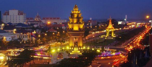 Agence de voyage cambodgienne à Phnom Penh