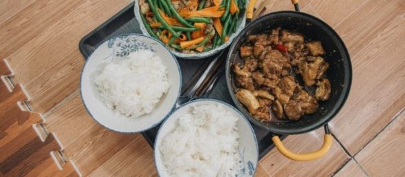 Riz - cuisine cambodgienne